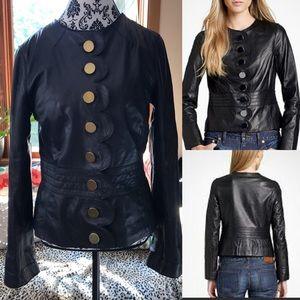 Tory Burch Cordelia leather jacket